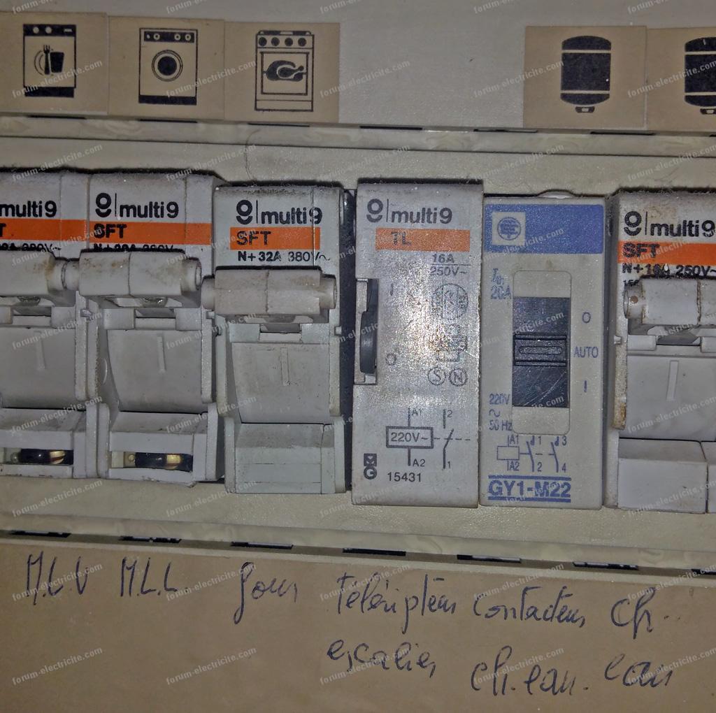 Remplacer interrupteur double va et vient avec télérupteur