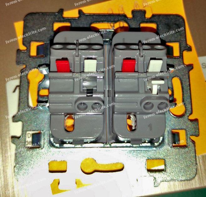 Questions r ponses branchement lectrique brancher un interrupteur double v - Brancher un interrupteur double va et vient ...