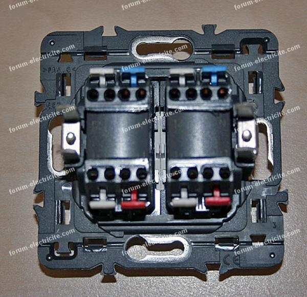Remplacement interrupteurs doubles va et vient conseils - Interrupteur double va et vient ...