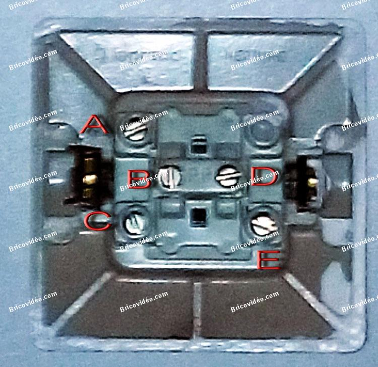 branchement interrupteur Legrand Neptune