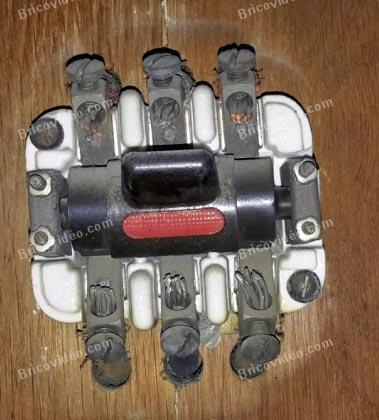 ancien interrupteur interrupteur