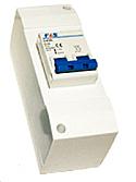 Interrupteur sectionneur / interrupteur différentiel