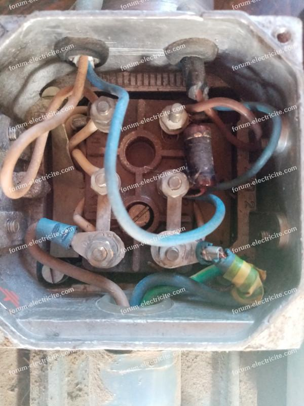 inversion sens de rotation moteur électrique monophasé