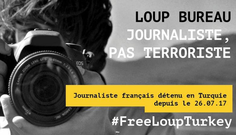 Journaliste, pas terroriste