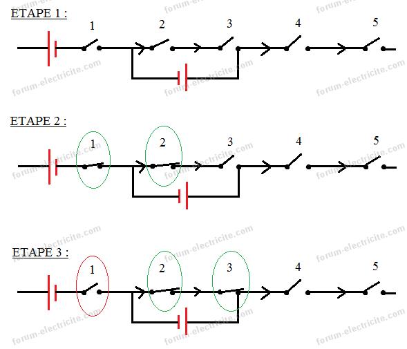 mécanisme électrique schéma