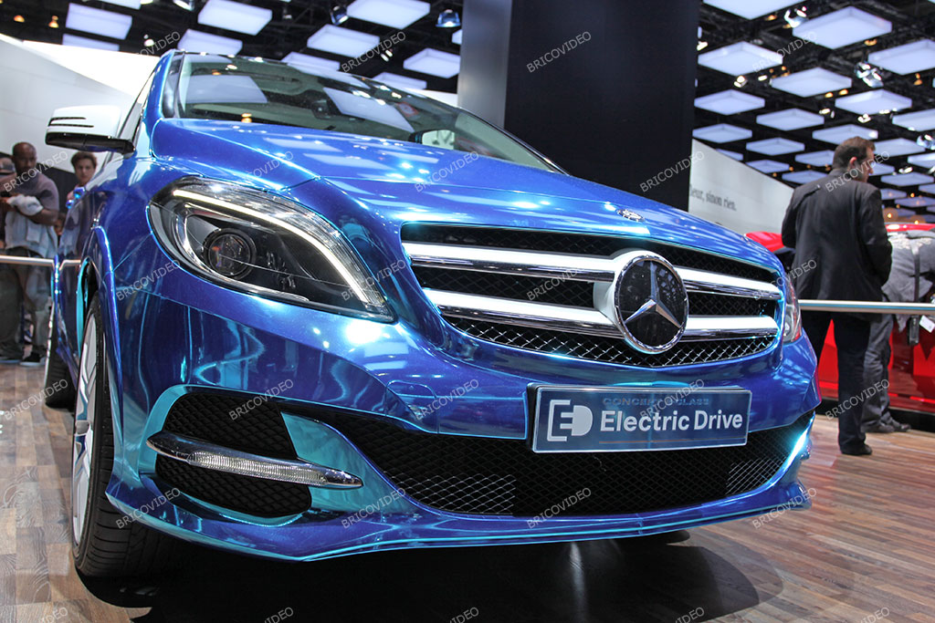 voiture électrique Mercedes Electric Drive