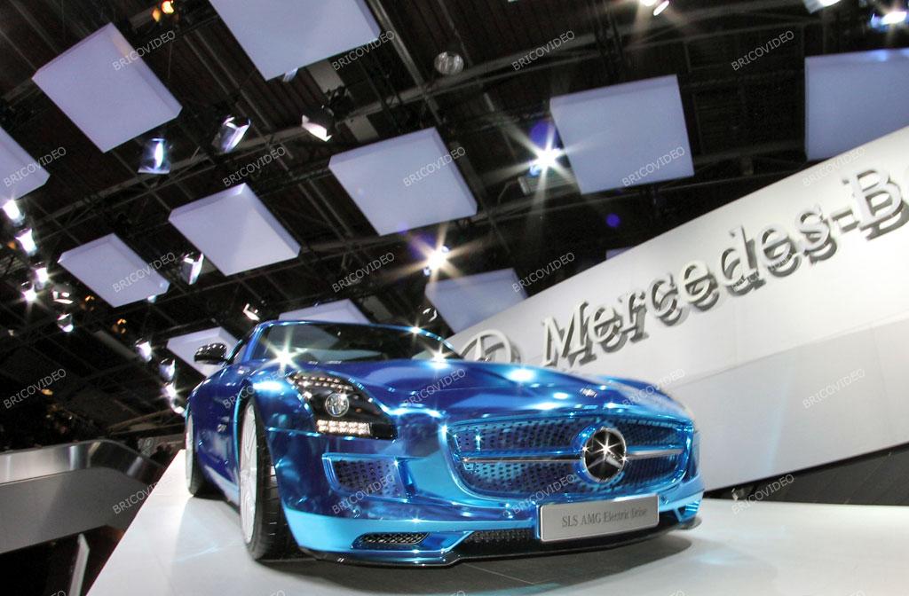 mercedes électrique SLS AMG 2012