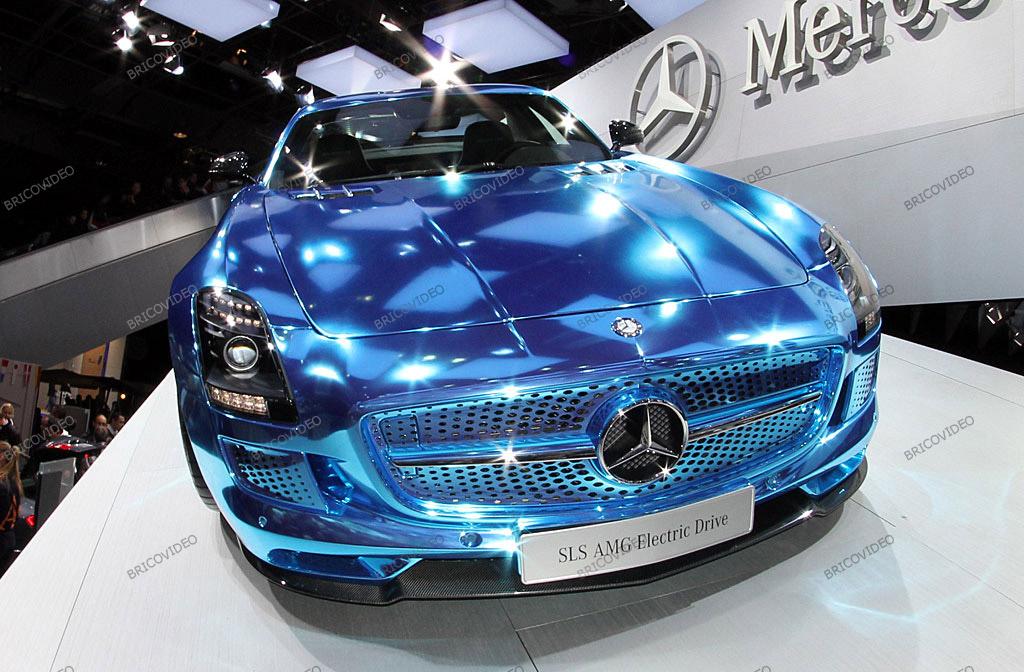 voiture électrique Mercedes SLS AMG