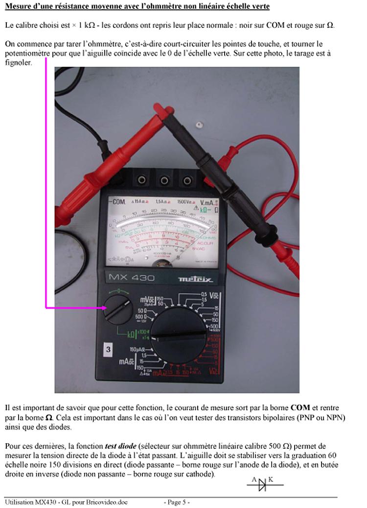 mesure electrique multimetrebv0616