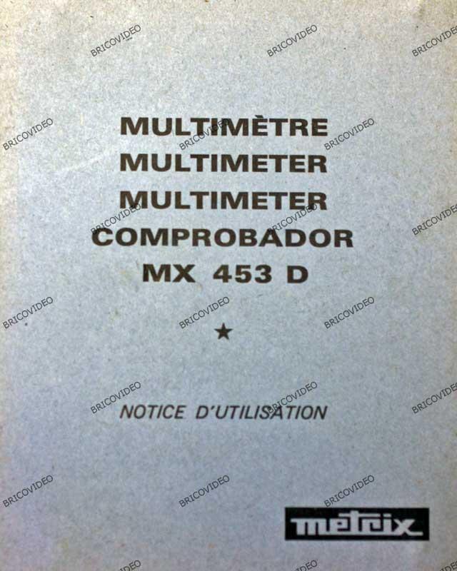 Metrix MX 453 D