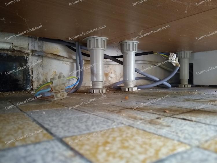 mise aux normes anciennes installation électrique