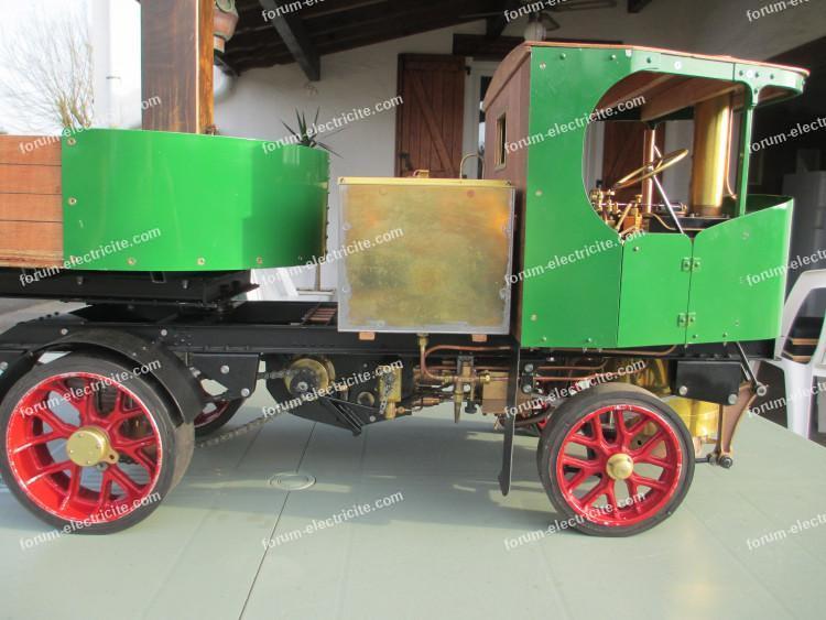modèle réduit machine à vapeur