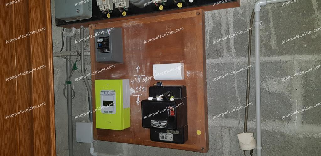 modification tableau électrique