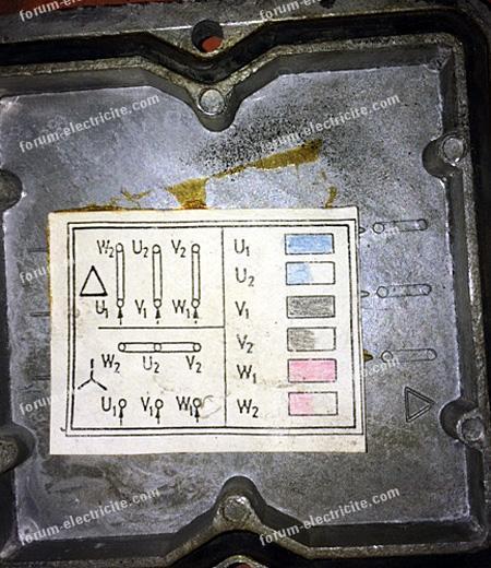 branchement moteur de compresseur air comprime 01