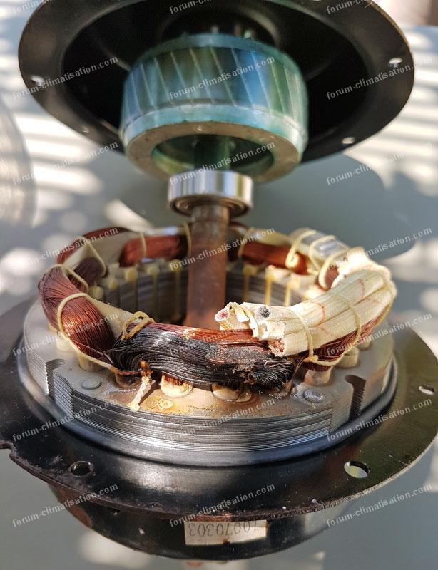 moteur ventilateur pac HS