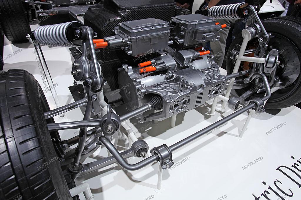 moteurs électriques transmission Mercedes