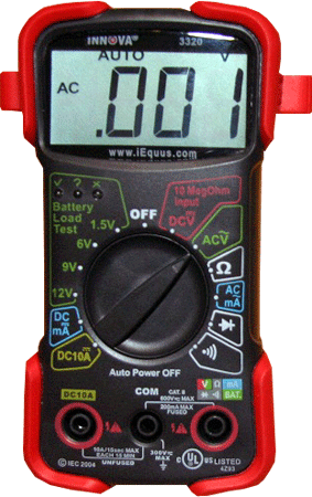 multimètre Innova 3320
