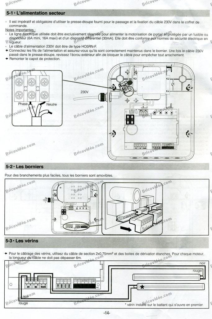 notice motorisation de portail p 311