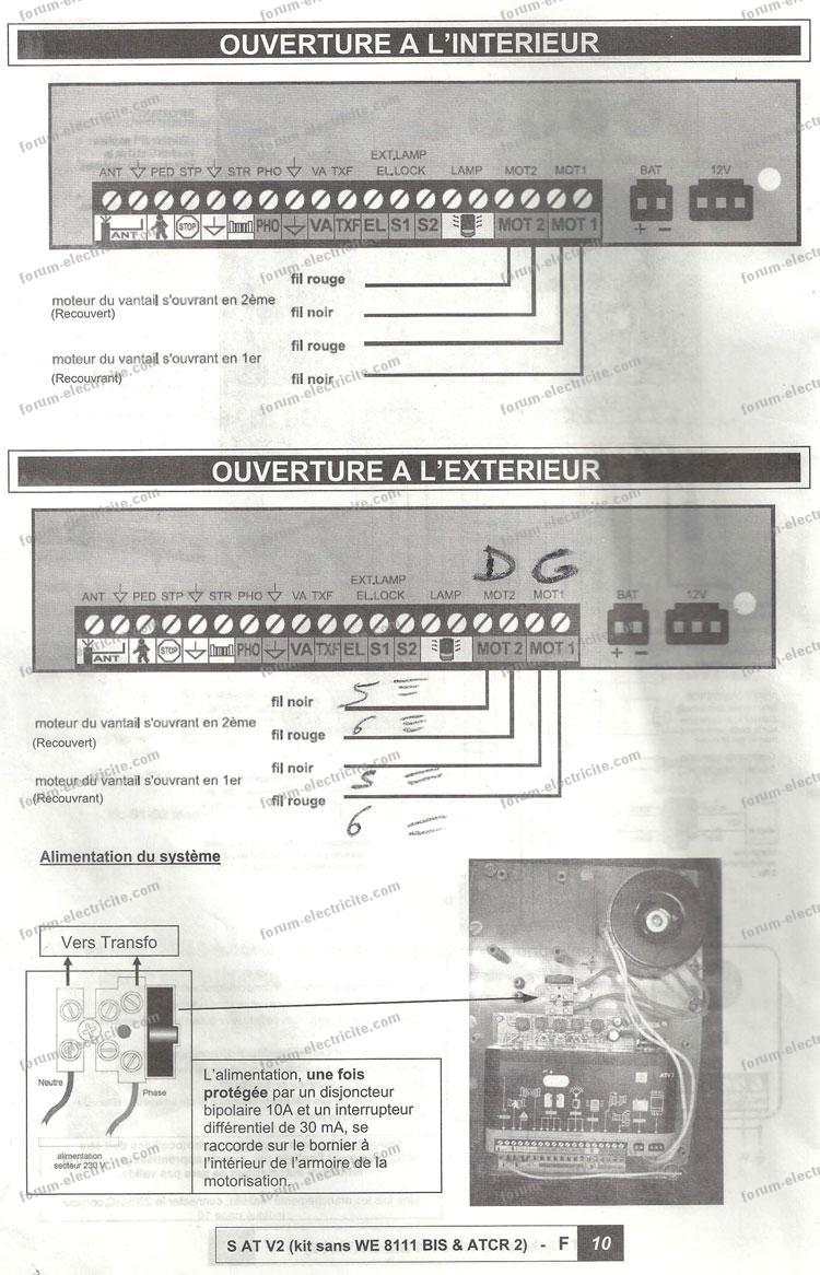 notice portail EXTEL moteur S AT V2