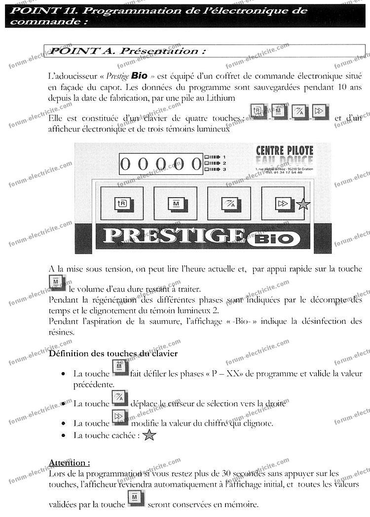 notice programmation prestige bio