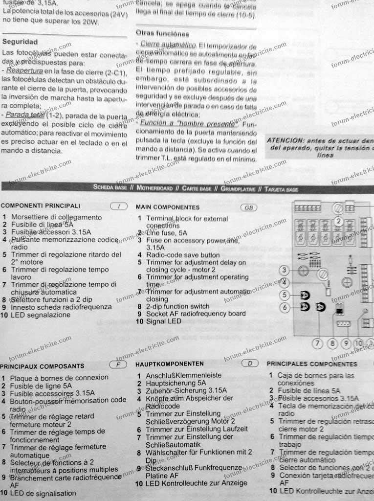 notice visiophone bticino 03