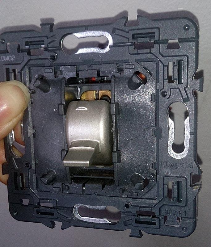 ouvrir interrupteur
