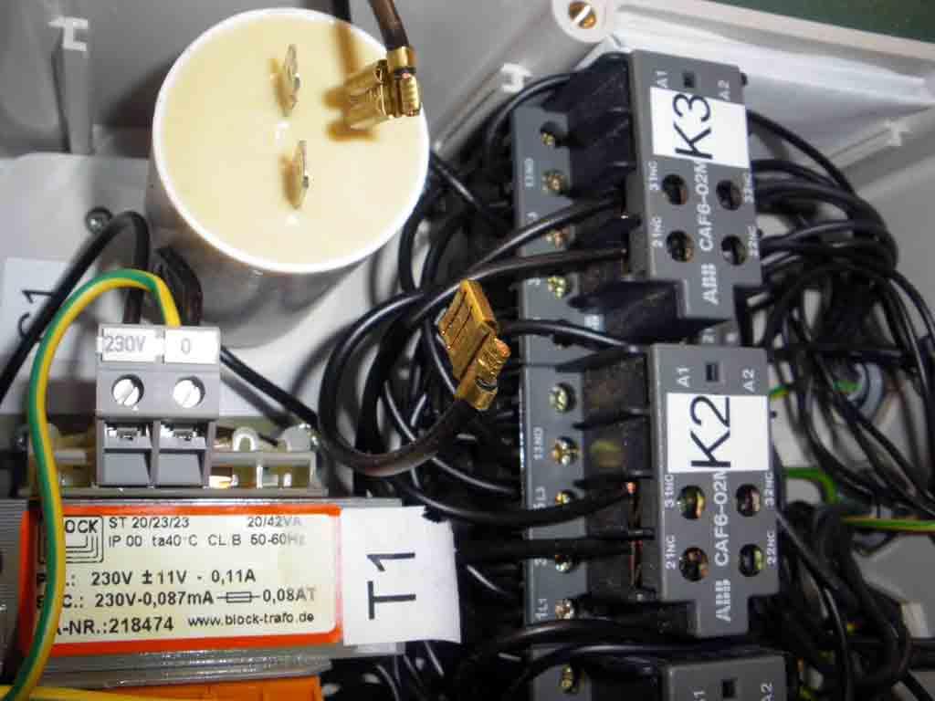 Problème électrique rabot dégauchisseuse Kity