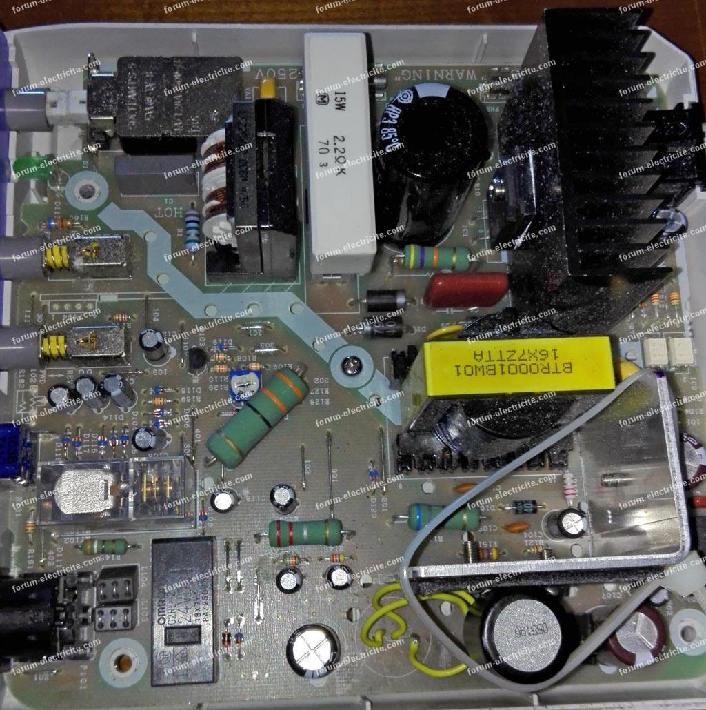 panne micromoteur variateur de puissance