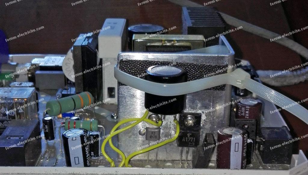 panne micromoteur panne variateur de puissance