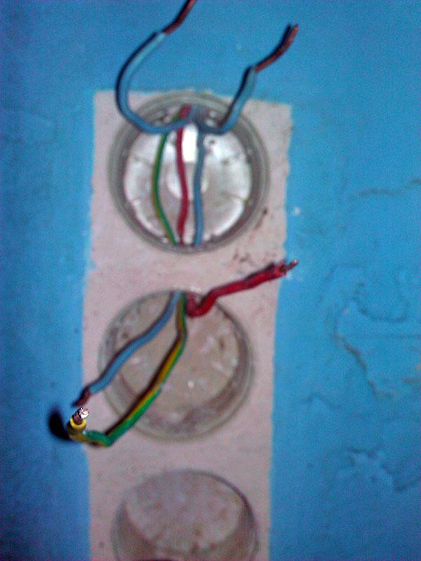 pb rebrancher interrupteur et prise