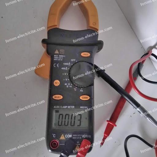 pince ampèremétrique alternatif et continu