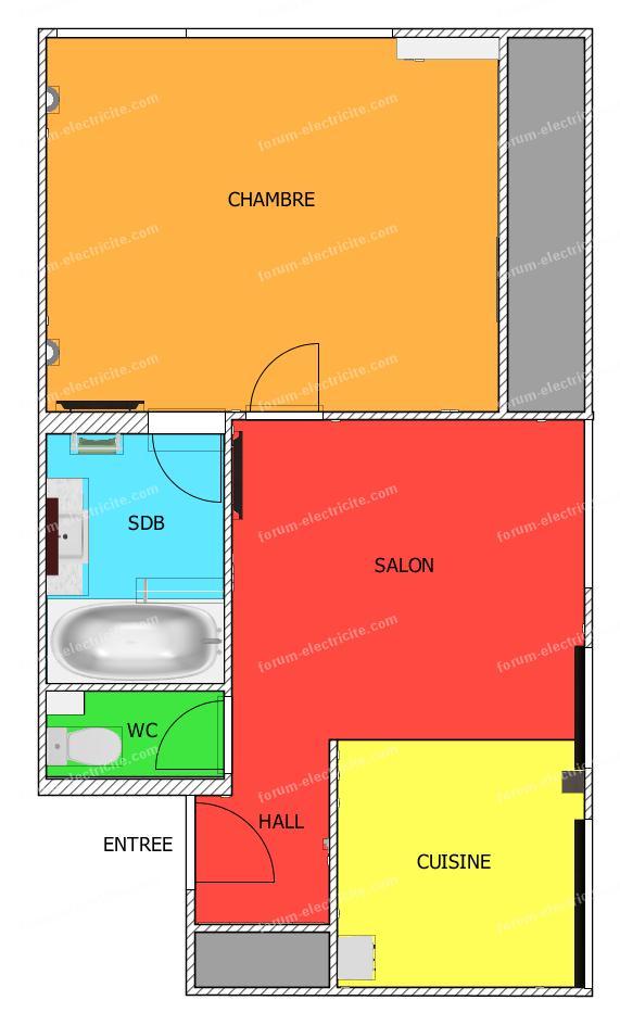forum lectricit conseils pour r aliser un tableau lectrique. Black Bedroom Furniture Sets. Home Design Ideas