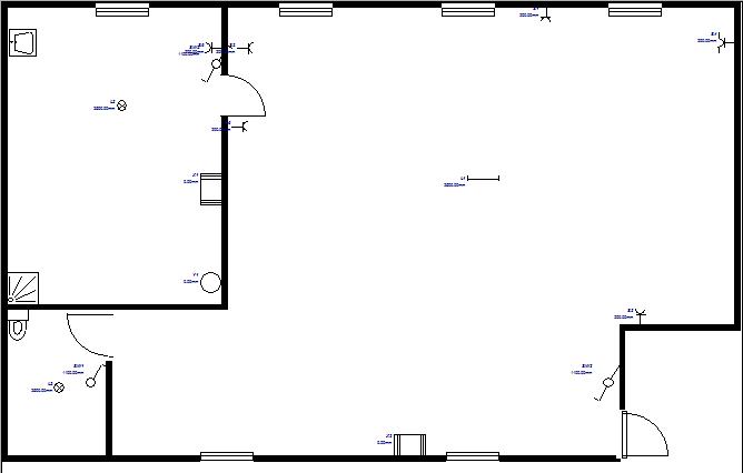 plan électrique dépôt