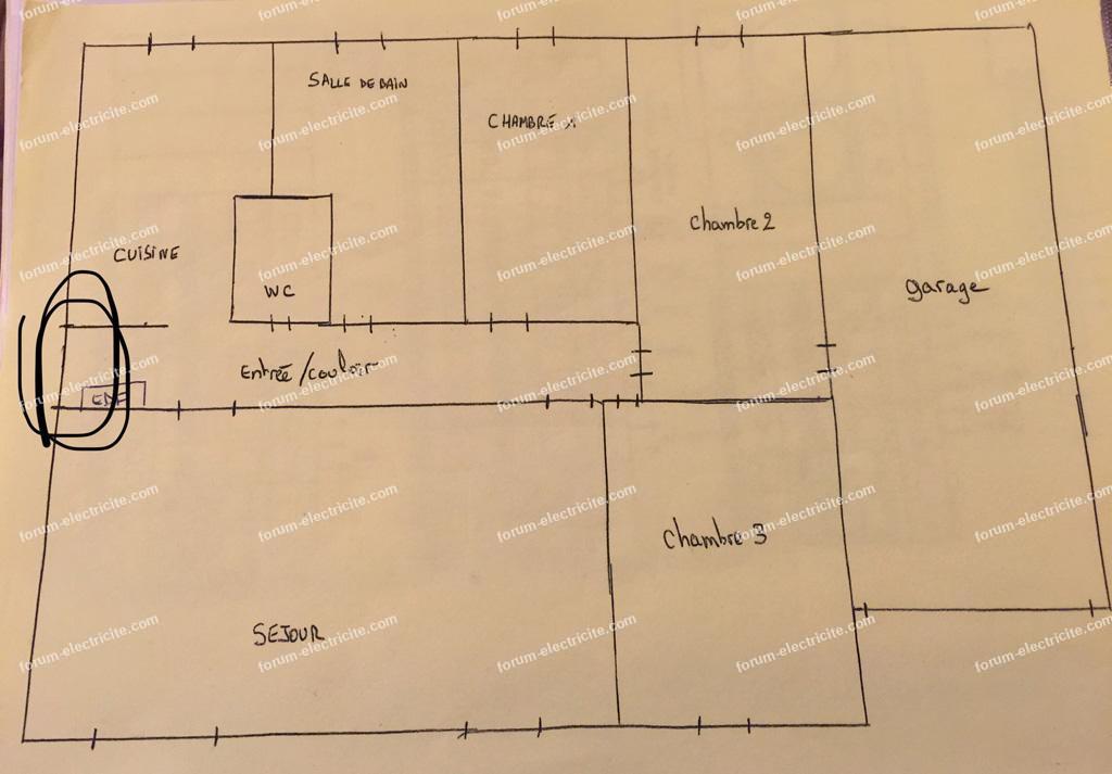 plan électrique maison