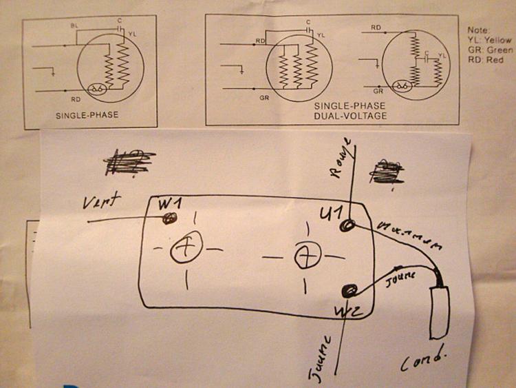 fiche bricolage lectricit sch ma branchement d 39 une pompe. Black Bedroom Furniture Sets. Home Design Ideas