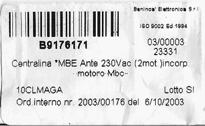 portail electrique beninca