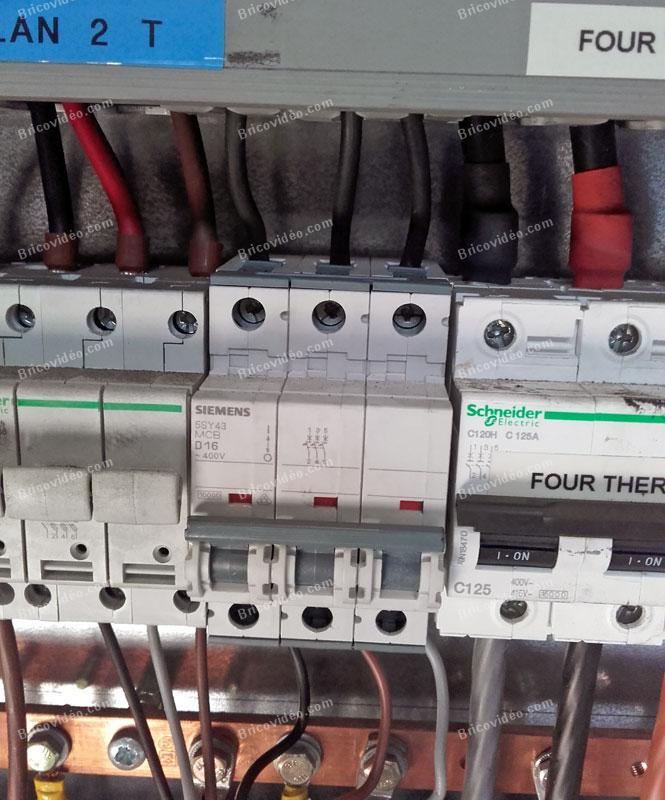 pouvoir de coupure disjoncteurs