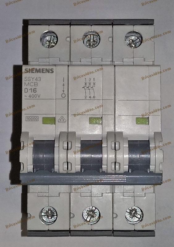pouvoir de coupure disjoncteurs siemens