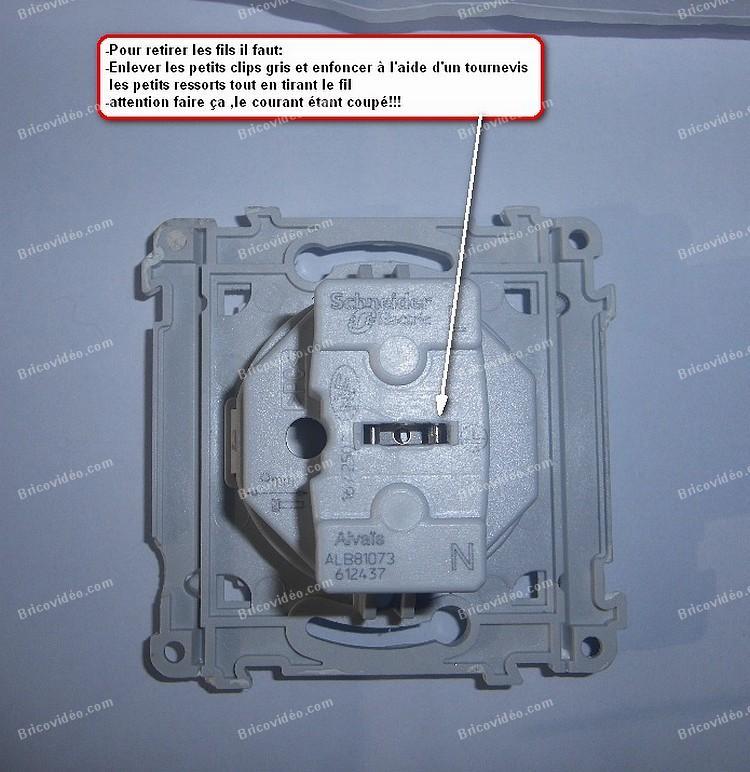 Comment demonter prise electrique schneider la r ponse est sur - Comment changer une prise electrique ...