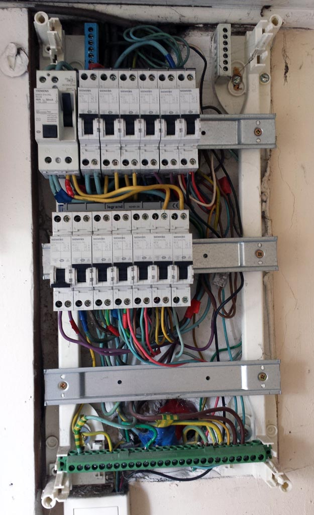problème installation électrique