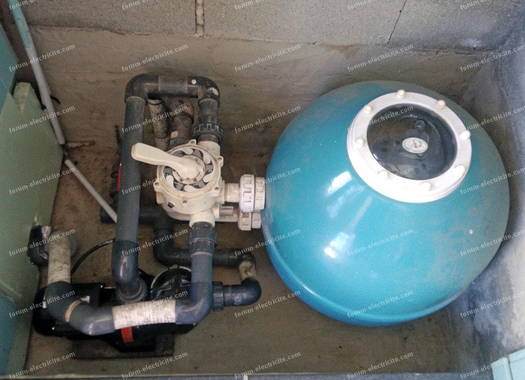 problème disjoncteur pompe de piscine