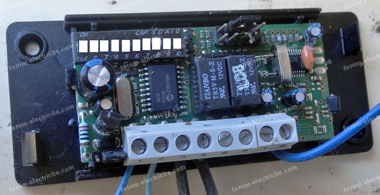 probleme eclairage telecommande radio nice
