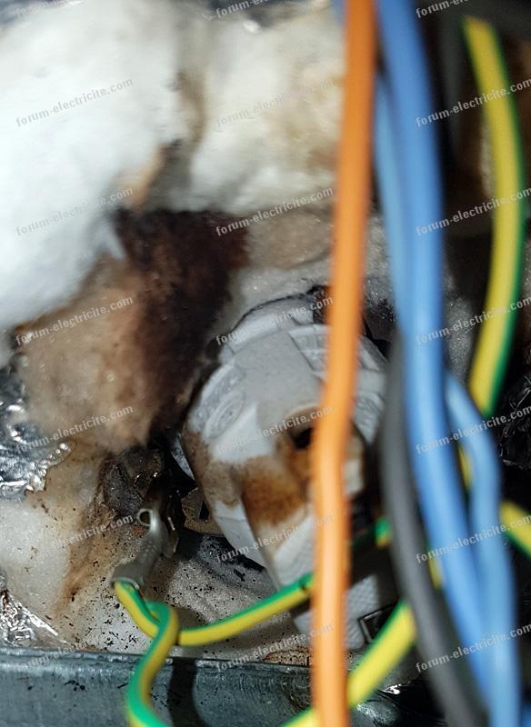 problème électrique four