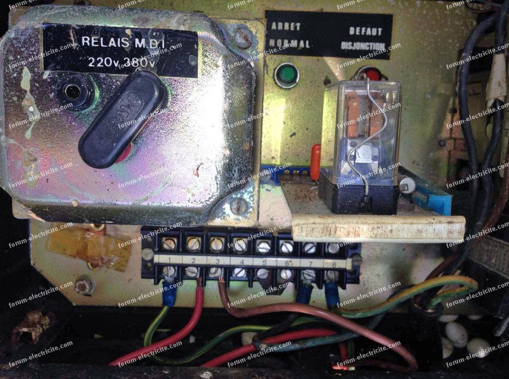 tableau électrique pompe de forage