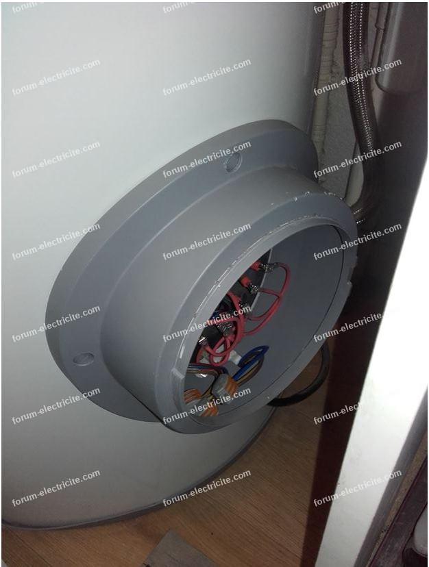 problème thermostat en sécurité chauffe-eau