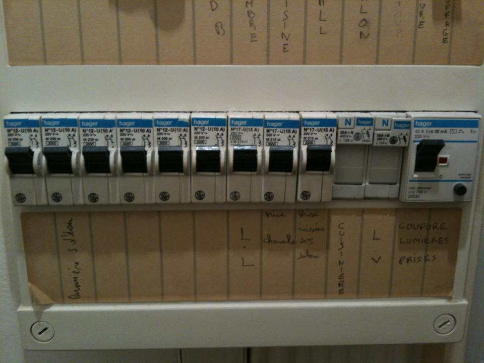 question travaux électricité brancher prise 32a