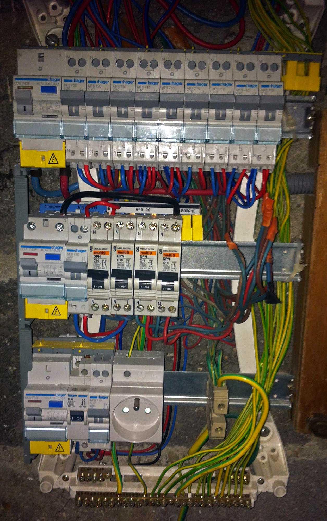 Travaux électricité installer radiateurs