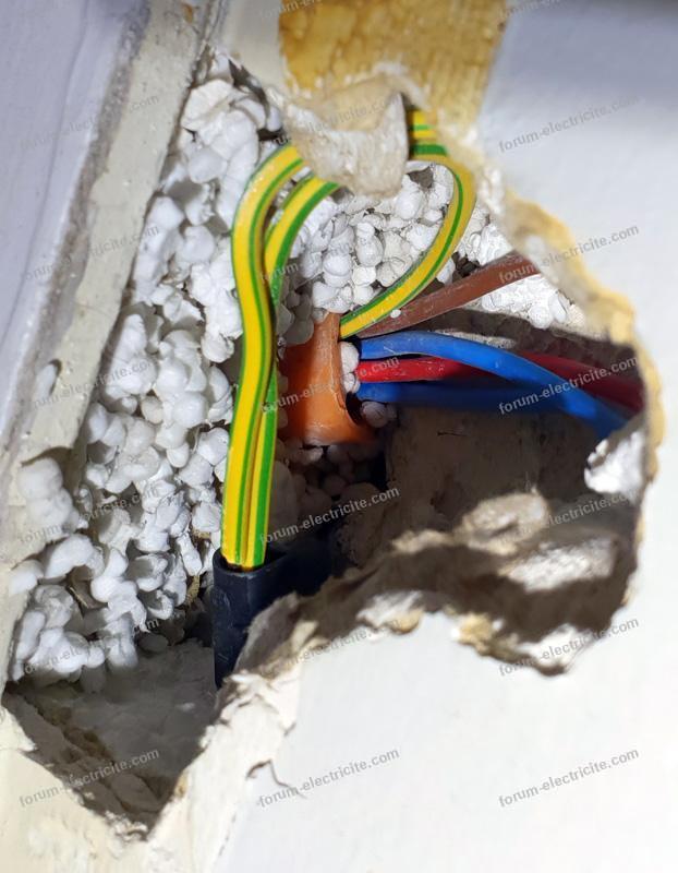 raccordement câble de terre