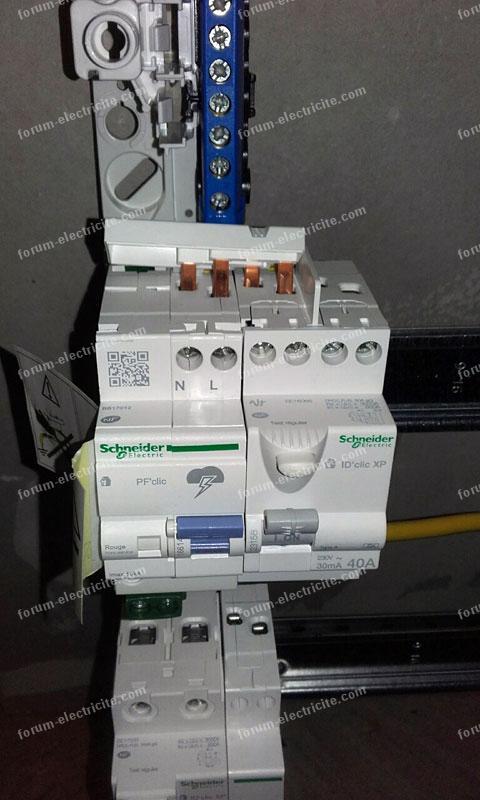 raccordement tableau électrique