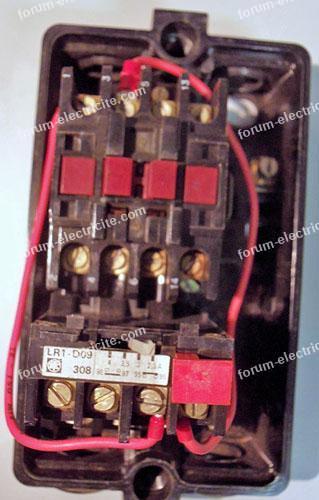 raccordement LR1-D09 Télémécanique